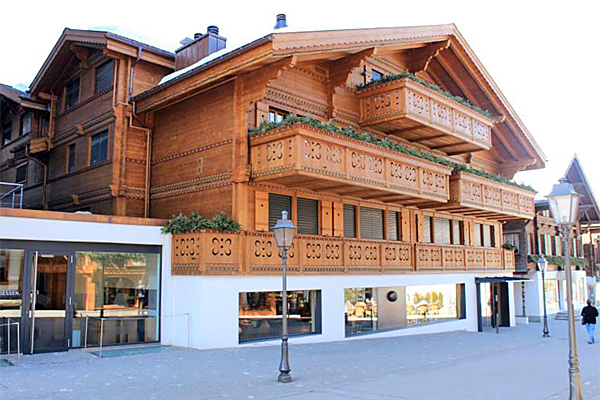 New Construction Commercial Building in Gstaad